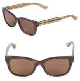 Gucci 50MM Oval Sunglasses