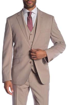 Co SAVILE ROW Mayfair Tan Two Button Notch Lapel Modern Fit Jacket
