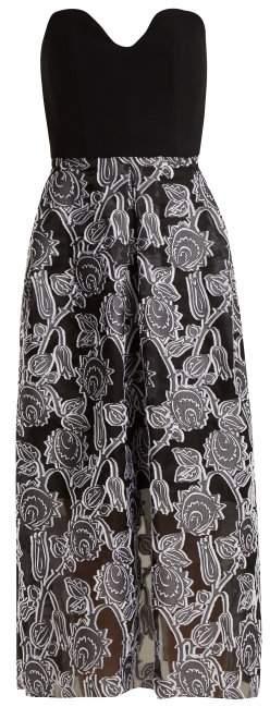 Amesbury viscose bustier dress