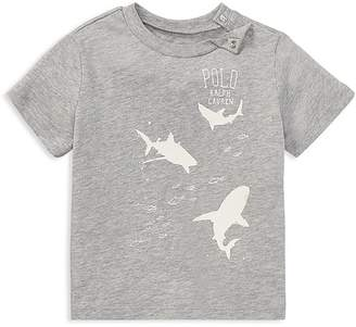 Ralph Lauren Boys' Shark Tee - Baby