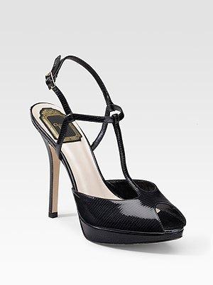 Dior Miss Dior T-Strap Peep-Toes