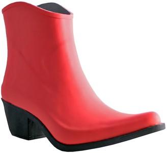 NOMAD Cowboy Ankle Rubber Rain Boots - Wrangler