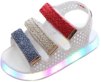026afae9 Moonker Kids Shoes,Toddler Baby Boys Girls Sport Summer Light-up Sandals LED  Luminous