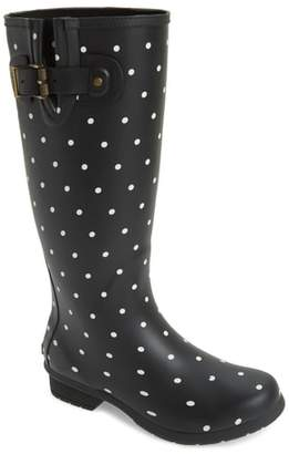 Chooka Classic Dot Rain Boot