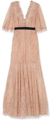 Alice McCall Look Good Feel Good Lace Gown - Blush