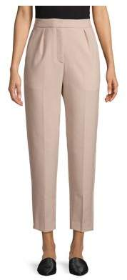 Theory City Front-Pleat Pants