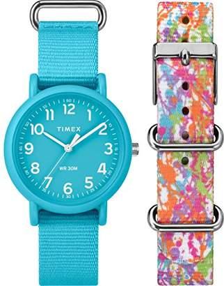 Timex Unisex TWG018300 Weekender Color Rush Box Set
