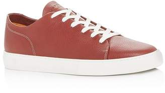 Harry's of London Men's Pursuit Milled Leather Low-Top Sneakers