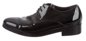Balenciaga Patent Leather Derby Shoes