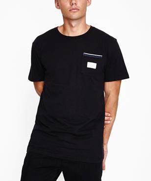 rhythm Cardiff Short Sleeve T-shirt Black