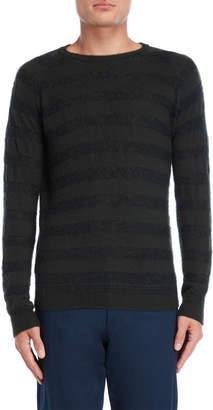 Roberto Collina Stripe Wool Knit Pullover
