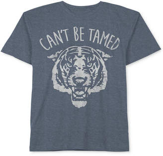 JEM Tiger Can't Be Tamed Cotton T-Shirt, Little Boys