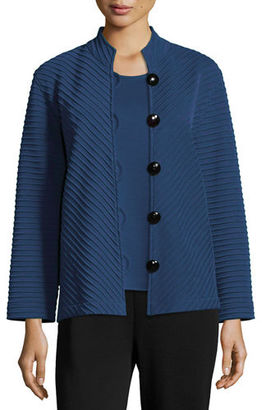 Caroline Rose Wool Ottoman Easy Jacket $395 thestylecure.com