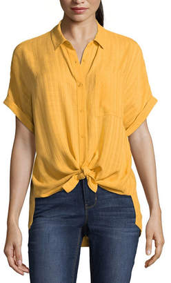 A.N.A Short Sleeve Camp Shirt