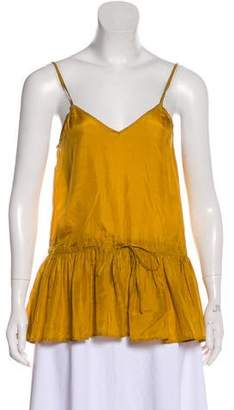 Mes Demoiselles Silk Sleeveless Top w/ Tags