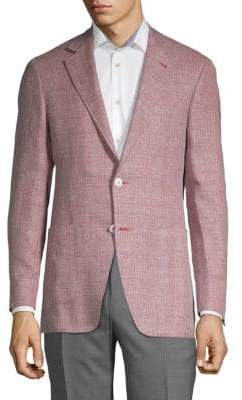 Canali Textured Notch Jacket
