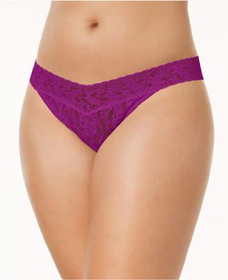 Hanky Panky Signature Lace Plus Size Original Rise Thong 4811X