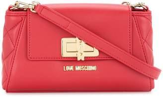 Love Moschino small twist-lock crossbody bag