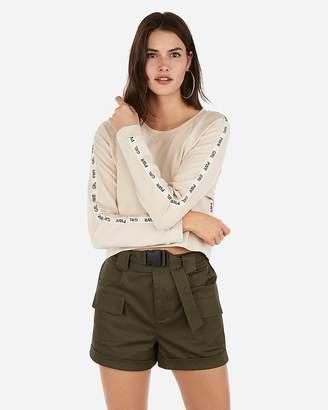 Express Olivia Culpo Girl Power Sweatshirt