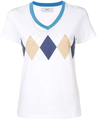 Pringle diamond print T-shirt