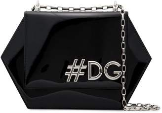 Dolce & Gabbana Girls Hexagonal shoulder bag