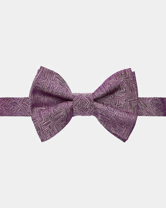 Ted Baker DOBOW Geometric silk bow tie
