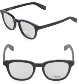 Saint Laurent 49MM Cat Eye Optical Glasses