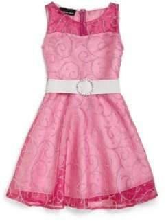 Un Deux Trois Little Girl's & Girl's Beaded Dress