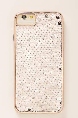 Anthropologie Reversible Sequins iPhone Case
