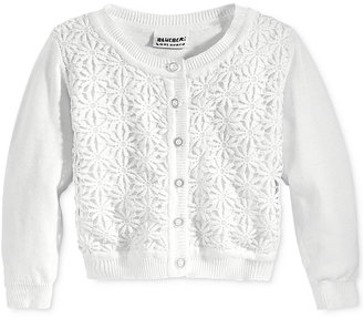 Blueberi Boulevard Crochet Floral Cardigan, Toddler & Little Girls (2T-6X) $30 thestylecure.com
