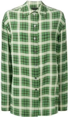 Marc Jacobs tartan pattern shirt
