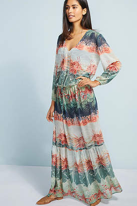 Lenny Niemeyer Atlantas Sheer Maxi Dress