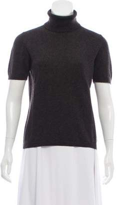 Malo Short Sleeve Cashmere Sweater