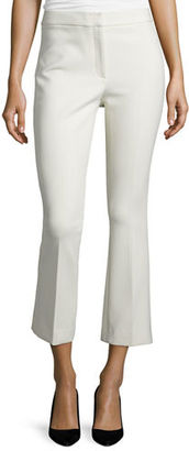 Theory Erstina Pioneer Cropped Pants $295 thestylecure.com