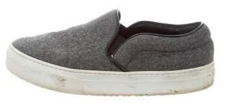 Celine Wool Slip-On Sneakers