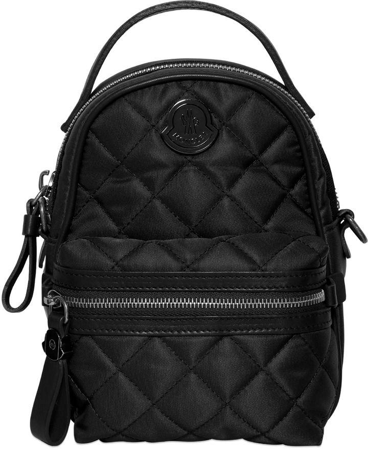 MonclerGeorgine Quilted Nylon Shoulder Bag