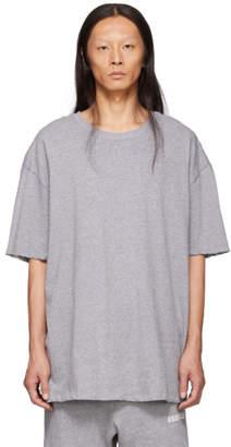 Essentials Grey Boxy T-Shirt