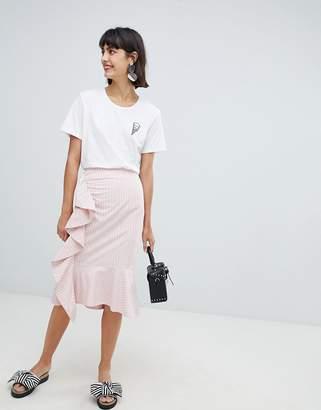 InWear Rachelle Ruffle Front Skirt