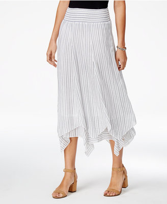 Style & Co Cotton Handkerchief-Hem Skirt, Only at Macy's $54.50 thestylecure.com