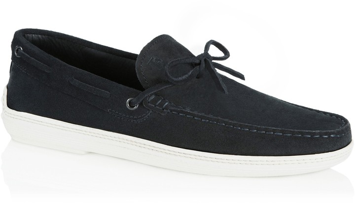 Tod's Boat Shoe with Front Tie