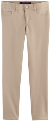 Girls 4-20 & Plus Size French Toast Knit Skinny Pants