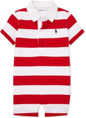 bdbe67853 Polo Ralph Lauren Baby Boys Striped Cotton Rugby Shortall