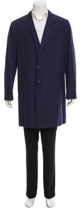 Barena Venezia Lightweight Notch-Lapel Car Coat