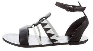 Proenza Schouler Leather Ankle Strap Sandals