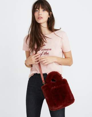 Madewell The Small Transport Crossbody in Faux Fur