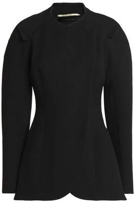 Roland Mouret Double-Breasted Wool-Twill Jacket