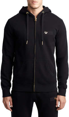 True Religion MENS HORSESHOE FULL ZIP HOODIE