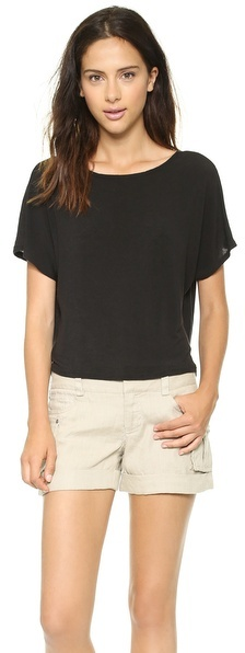Alice + Olivia AIR by Cowl Back Top