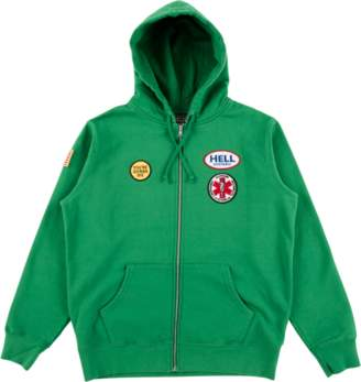 Hysteric Glamour Supreme Zip Up Sweats - Green