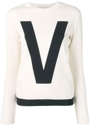 Valentino (ヴァレンティノ) - Valentino バイカラー セーター